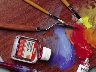 Pinturas acrílica