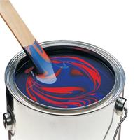 Bote de pintura.